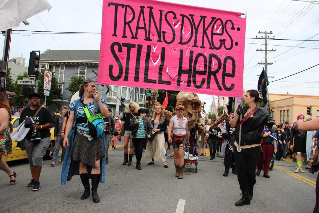 Trans Dykes Still Here