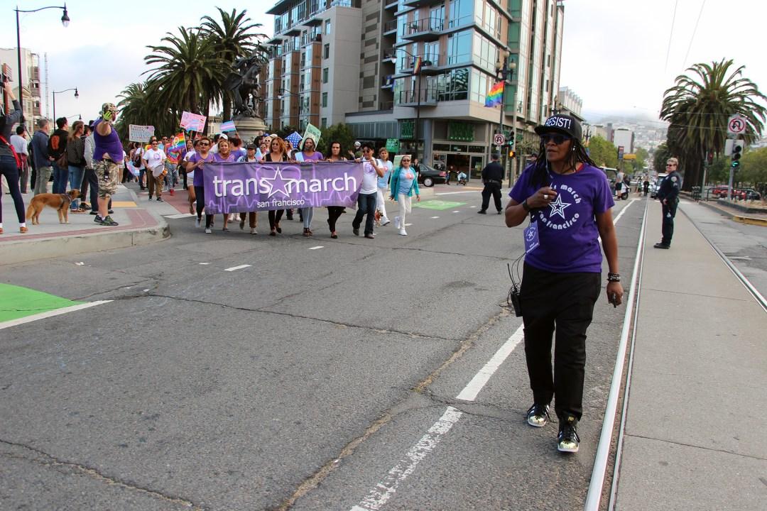 Trans March SF - Alex U. Inn