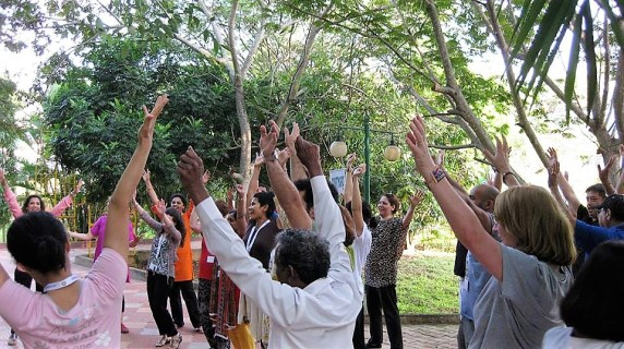 Laughter yoga teacher training Bangalore 2015 2