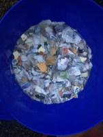 Biomass Briquettes making. Thick sludging process