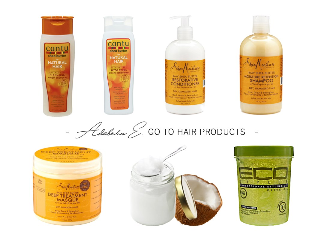 go to hair products