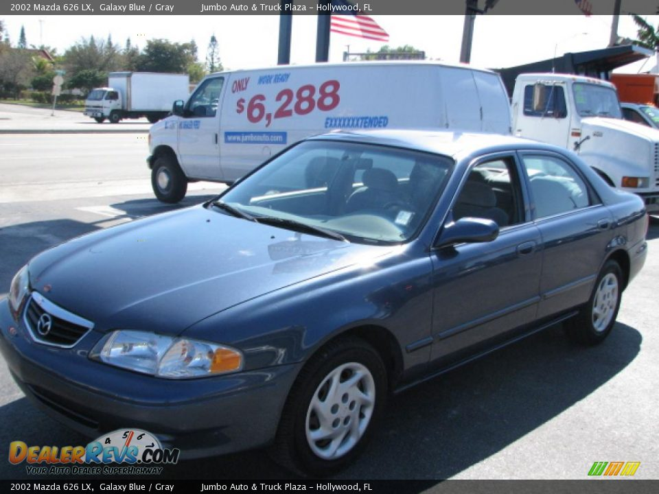Blue Mazda 626 2002 Amazing Pictures And Images  Look At