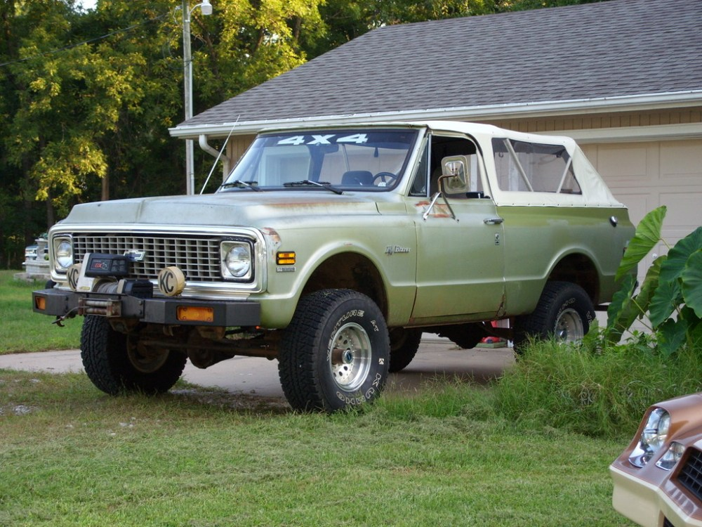 medium resolution of chevrolet blazer 1972 photo 1