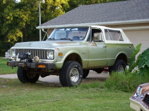 small resolution of chevrolet blazer 1972 photo 1