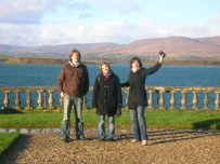 Alexis, Elise and Celine during my first irish trip in the south