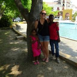 Niños in the parc