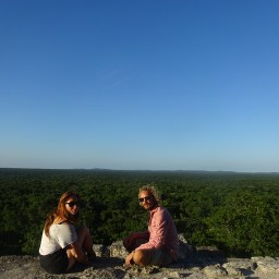 Mat, a french traveller who shared a crazy visit in Calakmul!