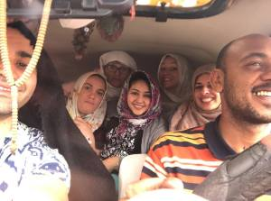 On the road to Abu Simbel