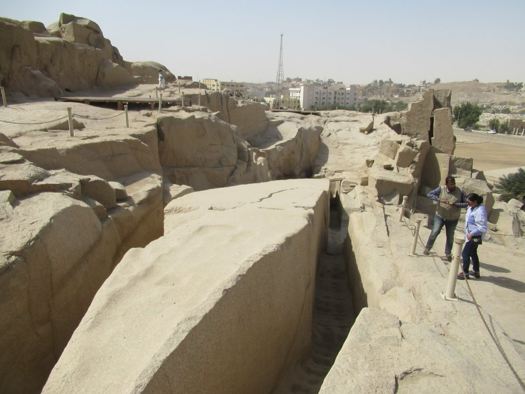 The unfinished obelisk, Aswan
