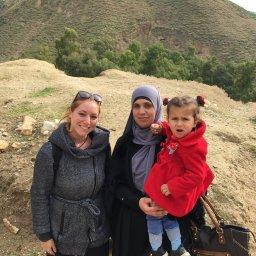Jordan's Family met in Pella