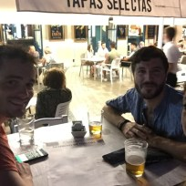 Beers and Tapas with Jerem and Julien