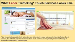 slideshow labor trafficking potential signs