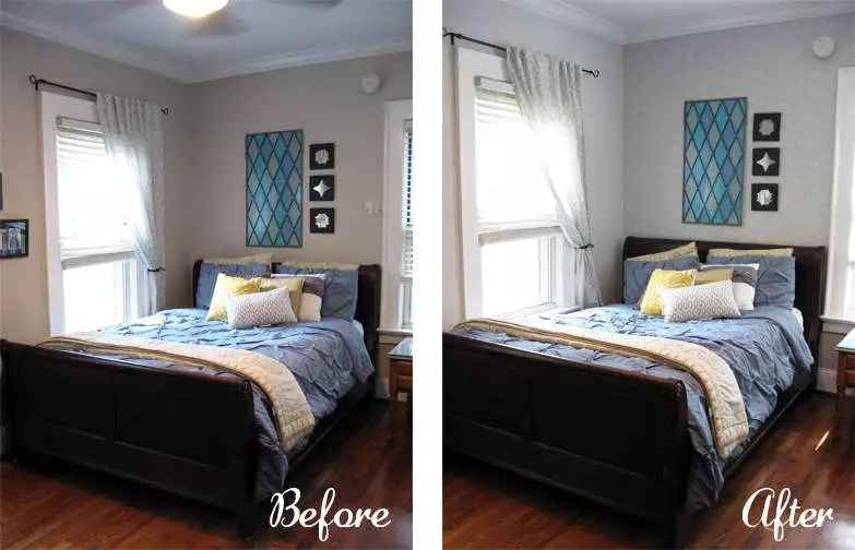 Review And Giveaway Diy Pattern Paint Roller Room Makeover