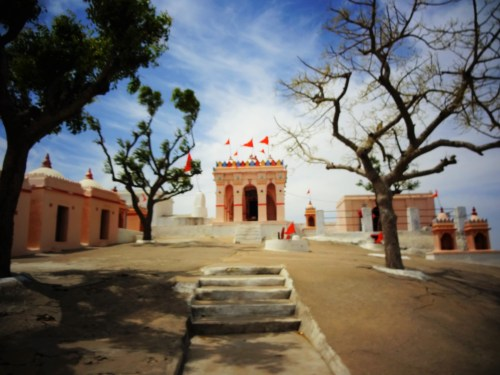 the temple dedicated for dharmnath