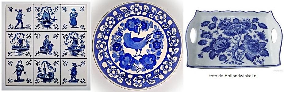 ceramica azul de delft
