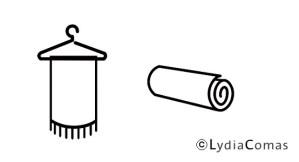Cómo guardar y transportar tus prendas de viscosa