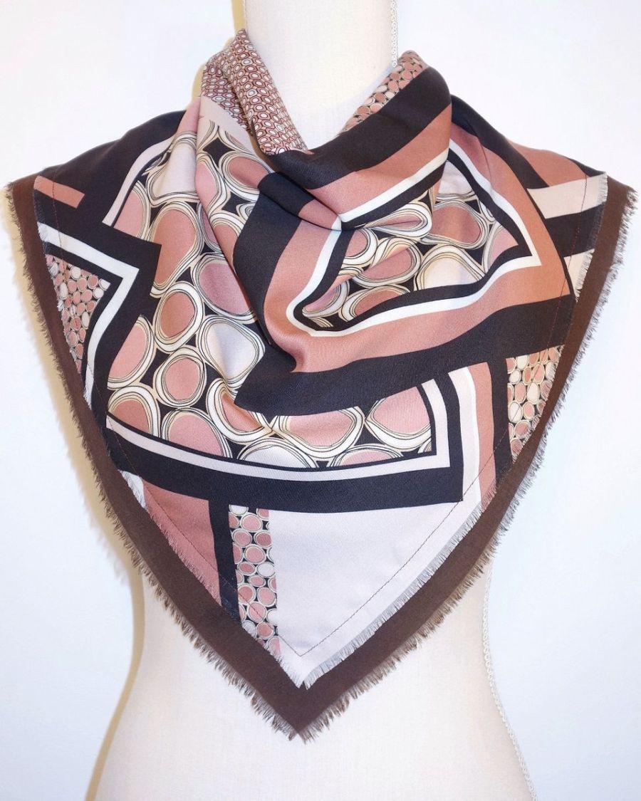 pañuelo de cuello estampado