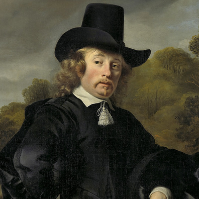 sombrero copa alta del s.XVII