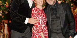 Stefano Gabbana Kylie Minogue Domenico Dolce Claridge's Christmas Tree 2014 Londra By Dolce&Gabbana