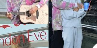 JustinBieber Hailey Baldwin Londra sneakers Nike x Off White Adidas calze Vetements tuta Cherry 6