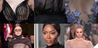 Dita Von Teese Naomi Campbell Alta Moda topless