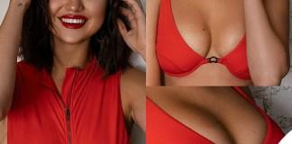 Selena Gomez intero bikini Krahs Swim