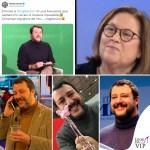 Matteo Salvini passione maglioncini collo alto