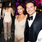 Irina Shayk e Bradley Cooper al party di British Vogue dopo i Bafta 2020
