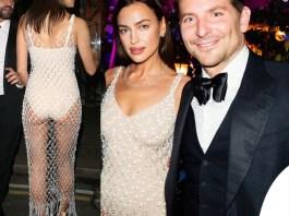 Irina Shayk e Bradley Cooper al party di British Vogue dopo i Bafta 2020