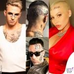 il tatuaggio sulla faccia delle star