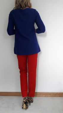 Red Zara trousers £29.99 currently in store