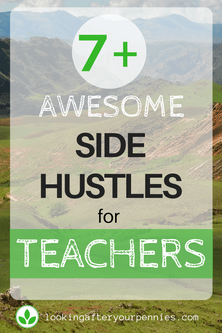 side hustles for teachers