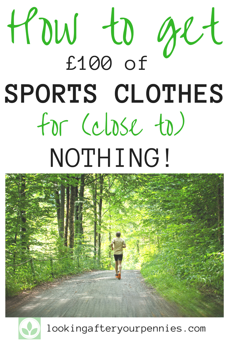 Loving shopping does not have to mean spending money. Learn how I (and you can too) used cashback sites to get free fitness wear. #shopping #frugalliving #sport #debtfree #lookingafteryourpennies