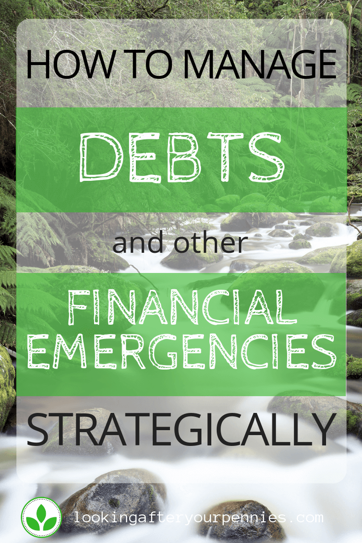 how to manage debts