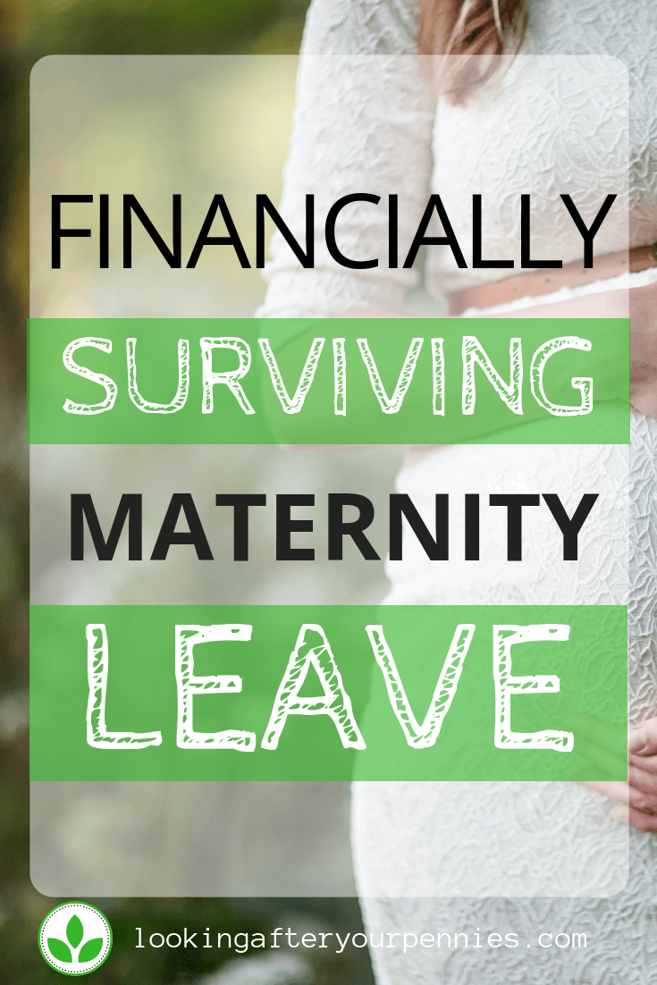 coping financially on maternity leave