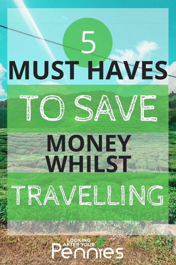 save money whilst travelling