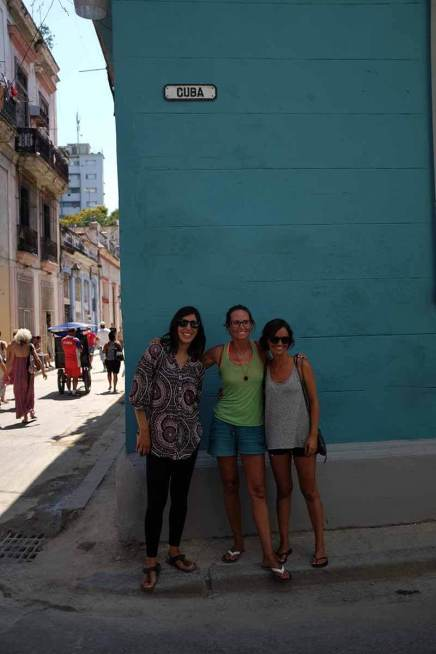 Nas ruas de Havana com Nikki e Lorena