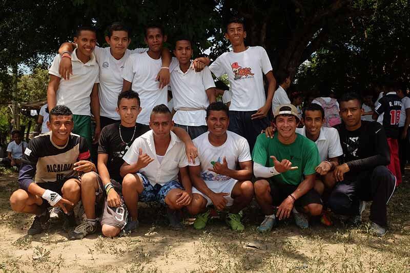 Equipa vencedora no dia do desporto