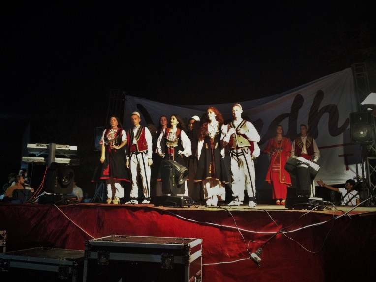 The kids looking great in their traditional Kosovar garb! This was my favorite round (the other two: jeans/t-shirt and formalwear were pretty whatever for me.)