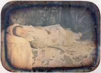 Fotografía de un niño muerto, junio 1857.