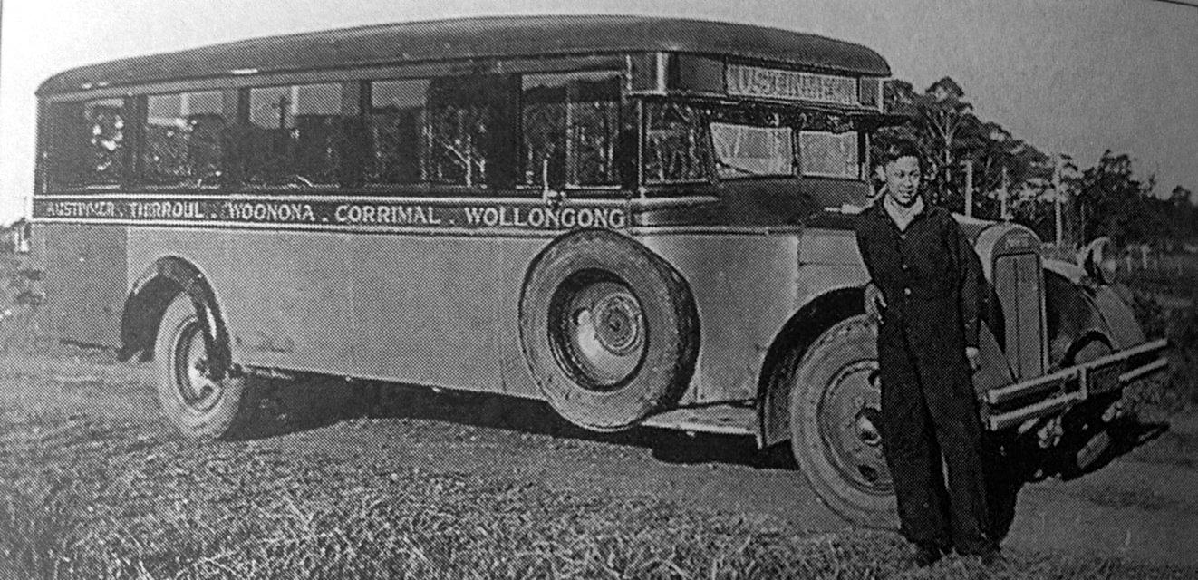 The first Austinmer bus run
