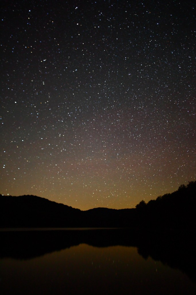 By Forest Wander from Cross Lanes, USA (Stars Reflecting Mountain Lake)