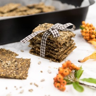 Spicy Savory Multi-Seed Crackers