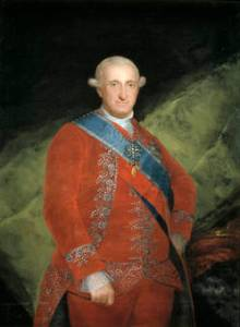 Francisco de Goya - Carlos IV - de rojo, 1789