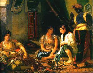 Eugène Delacroix - Women of Algiers, 1834