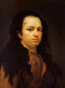 Francisco de Goya - A self-portrait of the Artist, 1771-75