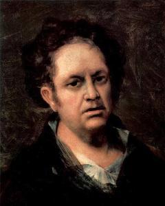 Francisco de Goya - A Portrait of the Artist