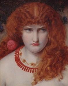Helen of Troy by Anthony Frederick Sandys c.1867