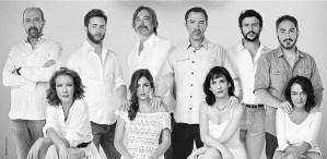 Los Hijos Se Han Dormido, a version of Chekhov's The Segull, performed at Barcelona's Teatre Lliure Jan 2013