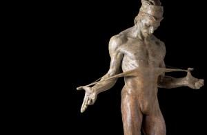 Richard MacDonald's sculptures at MEAM. This one features the dancer Rudolf Khametovich Nureyev.